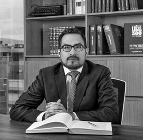 Jonathan Méndez, abogado de Puente & Asociados
