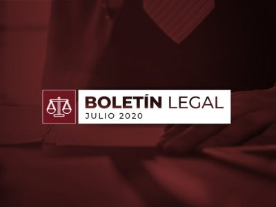 Boletín Legal Julio