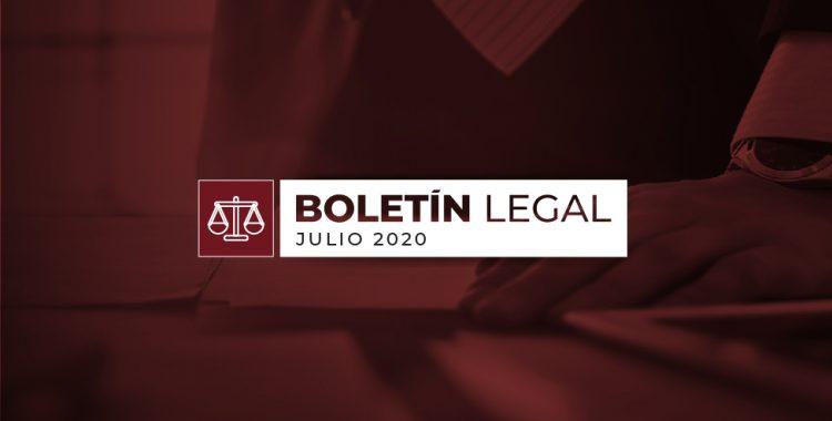 Boletín Legal Julio